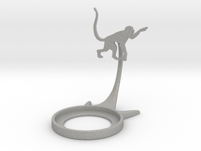 Animal Monkey in Aluminum