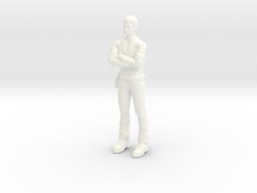 Wild Wild West - Artemis Gordon - 1.35 in White Processed Versatile Plastic