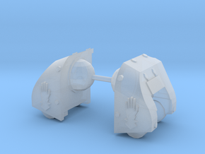 Steel Handed Warriors Goliath pads #1 in Smooth Fine Detail Plastic
