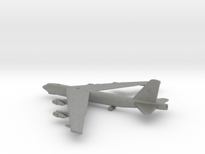Boeing B-52 Stratofortress in Gray PA12: 1:600