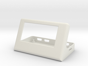 Base for pimoroni Inky pHAT and raspberry pi in White Natural Versatile Plastic