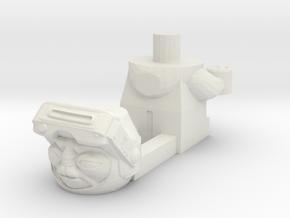 LEGO Compatible Babu Frik in White Natural Versatile Plastic