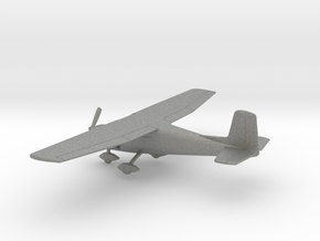 Cessna 150C in Gray PA12: 1:100