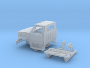 GMC/Chevrolet C 6000 2 Door Cab Kit 1-87 HO Scale in Smooth Fine Detail Plastic