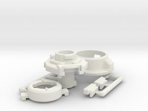 GT-35 LMF Adapter Kit in White Natural Versatile Plastic