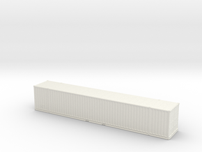 53ft High-Cube Container 1/200 in White Natural Versatile Plastic