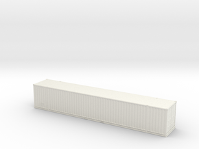 53ft High-Cube Container 1/100 in White Natural Versatile Plastic