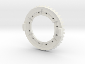 RingGearF509-G -1-20th Scale in White Natural Versatile Plastic