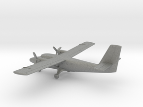 de Havilland Canada DHC-6 Twin Otter in Gray PA12: 1:200