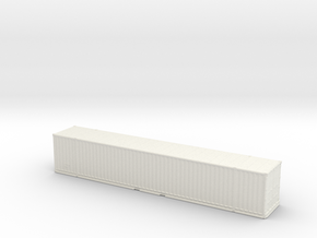 53ft High-Cube Container 1/220 in White Natural Versatile Plastic