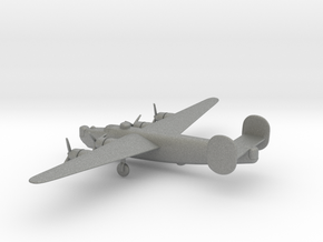 Consolidated B-24J Liberator in Gray PA12: 6mm