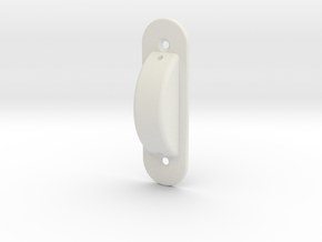 Safty Wall Switch Guard (full)  in White Natural Versatile Plastic