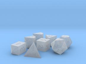 Polyset Vertical + D4C - Fantasy Elf Font in Smoothest Fine Detail Plastic