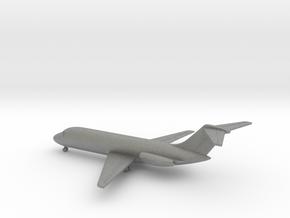 Douglas DC-9-10 in Gray PA12: 1:400
