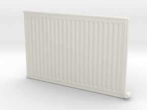 Wall Radiator Heater 1/35 in White Natural Versatile Plastic
