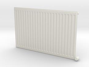 Wall Radiator Heater 1/24 in White Natural Versatile Plastic