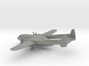 Fairchild C-119 Flying Boxcar in Gray PA12: 1:400