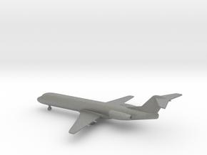 Fokker 100 in Gray PA12: 1:400