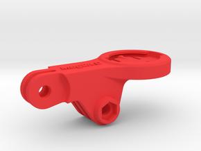 Garmin Mid For GoPro BMC Mount - Medium in Red Processed Versatile Plastic