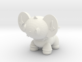 Shiny Shinx in White Natural Versatile Plastic