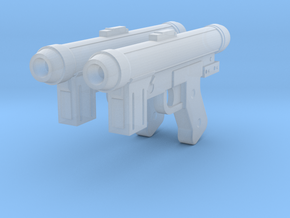 SE-14 Blaster Pistol in Smooth Fine Detail Plastic