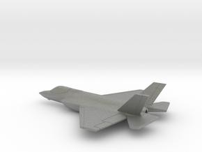 Lockheed Martin F-35C (w/o landing gears) in Gray PA12: 1:200