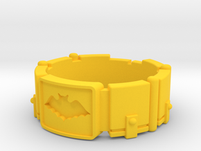 Dark Knight - 1960's Utility Belt in Yellow Processed Versatile Plastic: 8 / 56.75