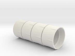 Tire spacer M38 Blazer v1  in White Natural Versatile Plastic