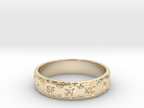 The Engagement Ring in 14K Yellow Gold