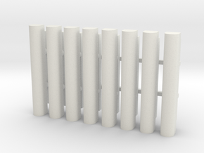 Cell Tower Antenna 1-48 Scale in White Natural Versatile Plastic