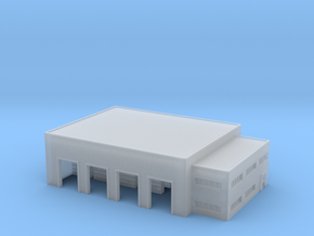 1:500 warehouse+office in Smooth Fine Detail Plastic
