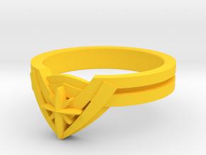 New WW Tiara Ring in Yellow Processed Versatile Plastic: 5 / 49