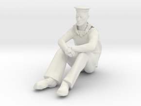Printle M Homme 049 - 1/20 - wob in White Natural Versatile Plastic