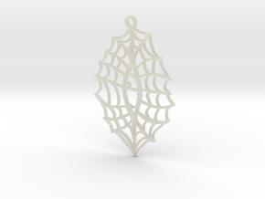:Vision Web: Pendant in Transparent Acrylic