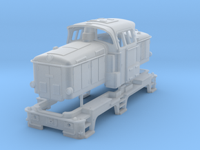 DSB MH in TT scale in Smooth Fine Detail Plastic