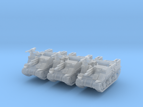 M7 Priest late (x3) 1/200 in Smooth Fine Detail Plastic