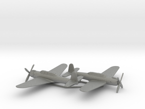 Nakajima B6N2 1:200 x2 (w/o landing gears) in Gray PA12