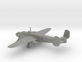 North American B-25J Mitchell in Gray PA12: 1:200