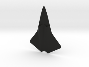 F/A-XX Sixth Generation Fighter in Black Natural Versatile Plastic: 1:144