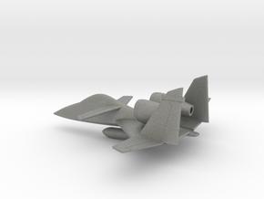 PZL-230 Skorpion (w/o landing gears) in Gray PA12: 1:160 - N