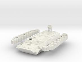 MT-LB Soviet multi-role amphibious Scale: 1:55 in White Natural Versatile Plastic