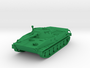 1/55 PT-76 tank in Green Processed Versatile Plastic