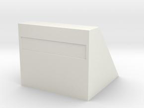 Betonnen stootblok   HO in White Natural Versatile Plastic