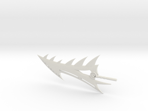 Age of Extinction Grimlock Spinal Sword in White Natural Versatile Plastic