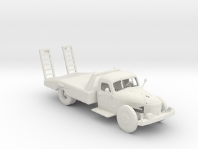 Wastelands Salvage truck 1:160 scale in White Natural Versatile Plastic