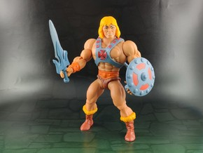 Alcala Powersword (MotU Origins Scale) in Smooth Fine Detail Plastic