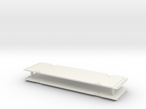 Verbauplatte 1.4m / shoring plate in White Natural Versatile Plastic: 1:50