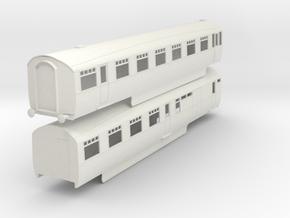 b-32-lner-coronation-twin-open-3rd-brake in White Natural Versatile Plastic