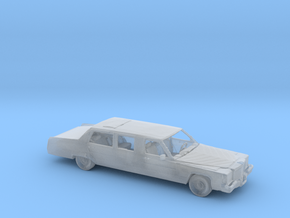 S Scale Limo in Smooth Fine Detail Plastic
