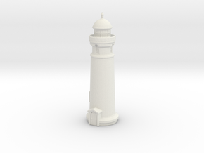 Lighthouse (round) 1/285 in White Natural Versatile Plastic